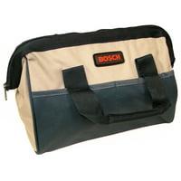 """Bosch 11"""" x 7"""" x 6"""" Heavy Duty Contractors Tool Bag # 2610922842"""