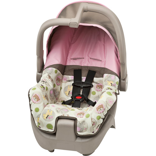 Evenflo - Discovery 5 Infant Car Seat, Zoo Crew Girl