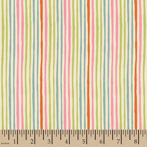 Springs Creative Bohemian Garden Stripe Fabric by the Yard
