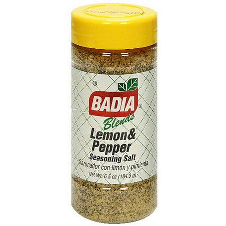 Badia Lemon Pepper, 6.5 oz (Pack of 6)