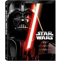 Star Wars: The Original Trilogy - Episode IV- A New Hope / Episode V- The Empire Strikes Back / Episode VI- Return Of The Jedi (Blu-ray + DVD)
