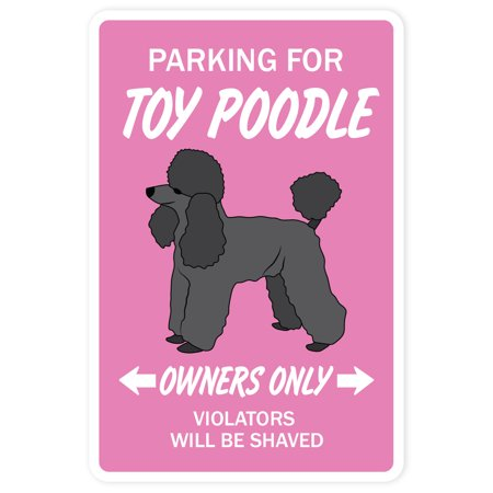 - Toy Poodle Novelty Sign | Indoor/Outdoor | Funny Home Décor for Garages, Living Rooms, Bedroom, Offices | SignMission Gift Miniature Groomer Groom Akc Sign Wall Plaque Decoration