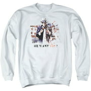 Arkham City We Want You Mens Crewneck Sweatshirt