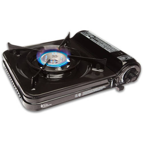 Sterno 50106 9,000-BTU Portable Butane Stove with Piezo Electronic Ignition and Adjustable Flame