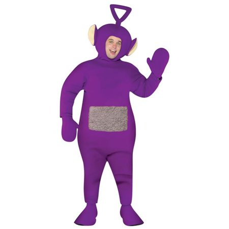 Morris Costumes GC4223 Teletubbies Tinky Winky Adult - Cheap Teletubbies Costumes For Adults
