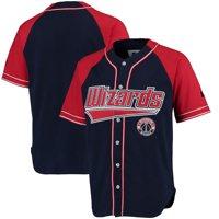 Washington Wizards Starter Baseball Jersey - Red/Red
