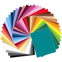 """Siser EasyWeed Heat Transfer All Colors Bundle 39 Sheets - 15"""" x 1 Ft"""