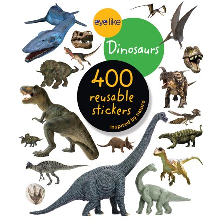 Eyelike Stickers: Dinosaurs - Paperback - Adult Sticker Book