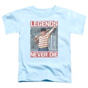 The Sandlot Legends Toddler Boys Shirt Light Blue