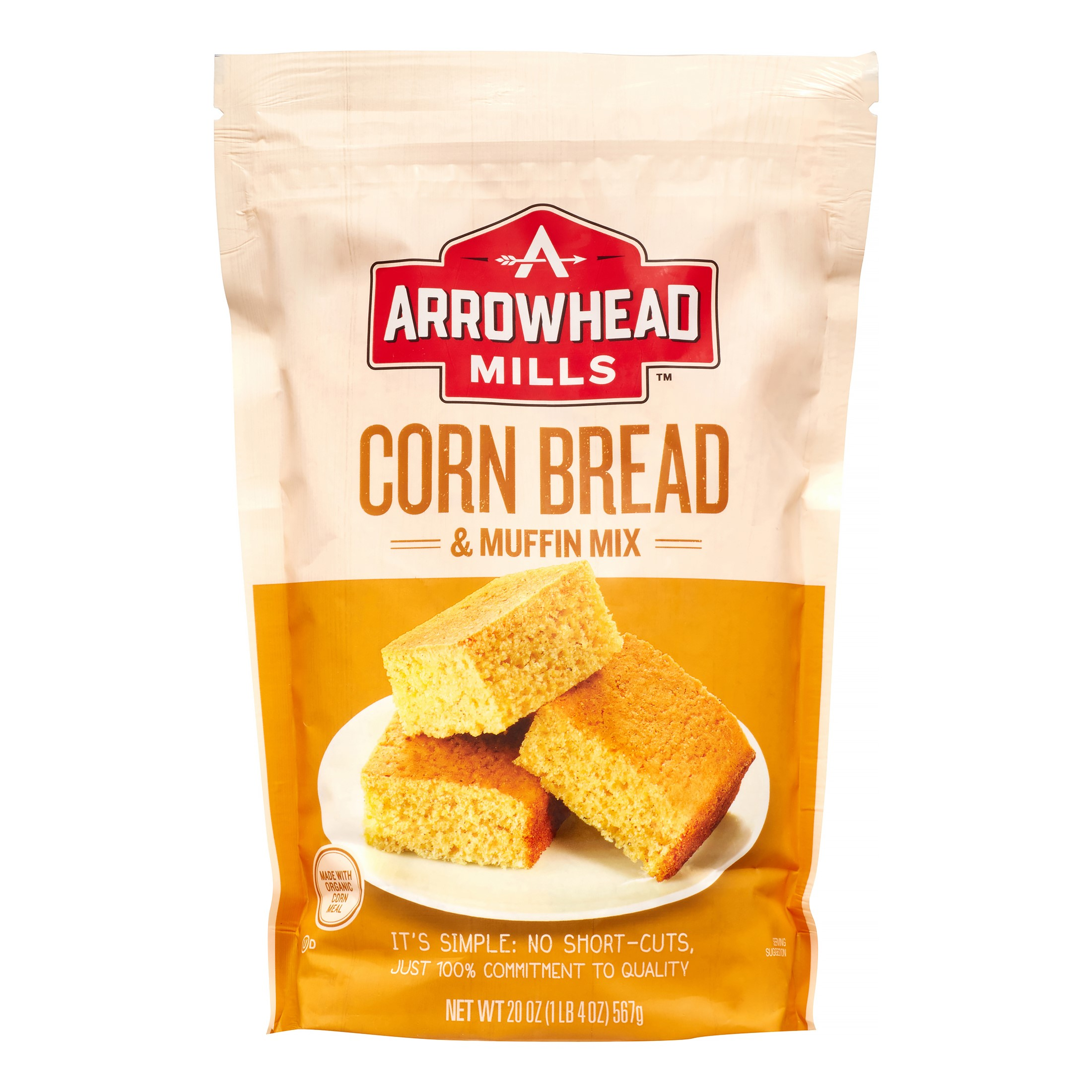 Arrowhead Mills Corn Bread and Muffin Mix, 20 Oz by Hain Celestial