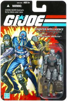 Gi Joe 25th Wraith Canada Bilingual Version 3 3//4 Action Figure Package