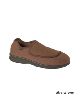 3511c0b6e34b Product Image Silverts 509900209 Mens Medi Shoe-Slipper With Fasteners -  Fits Up To 14 - 9
