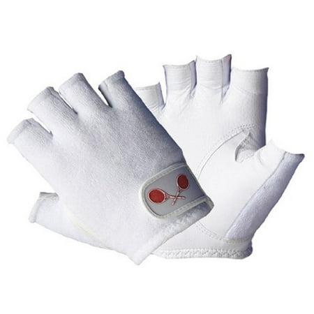 Tourna Women's Half Finger Tennis (Finger Tennis Gloves)
