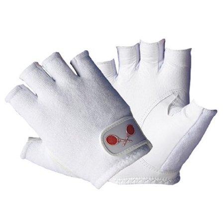 Tourna Women's Half Finger Tennis Glove (Large, (Finger Tennis Gloves)