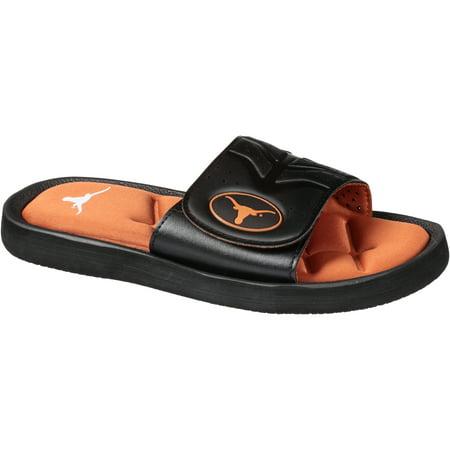 Colliegiate Men's Slide L (11-12) Footwear University of Texas Longhorns 1 - Footwear
