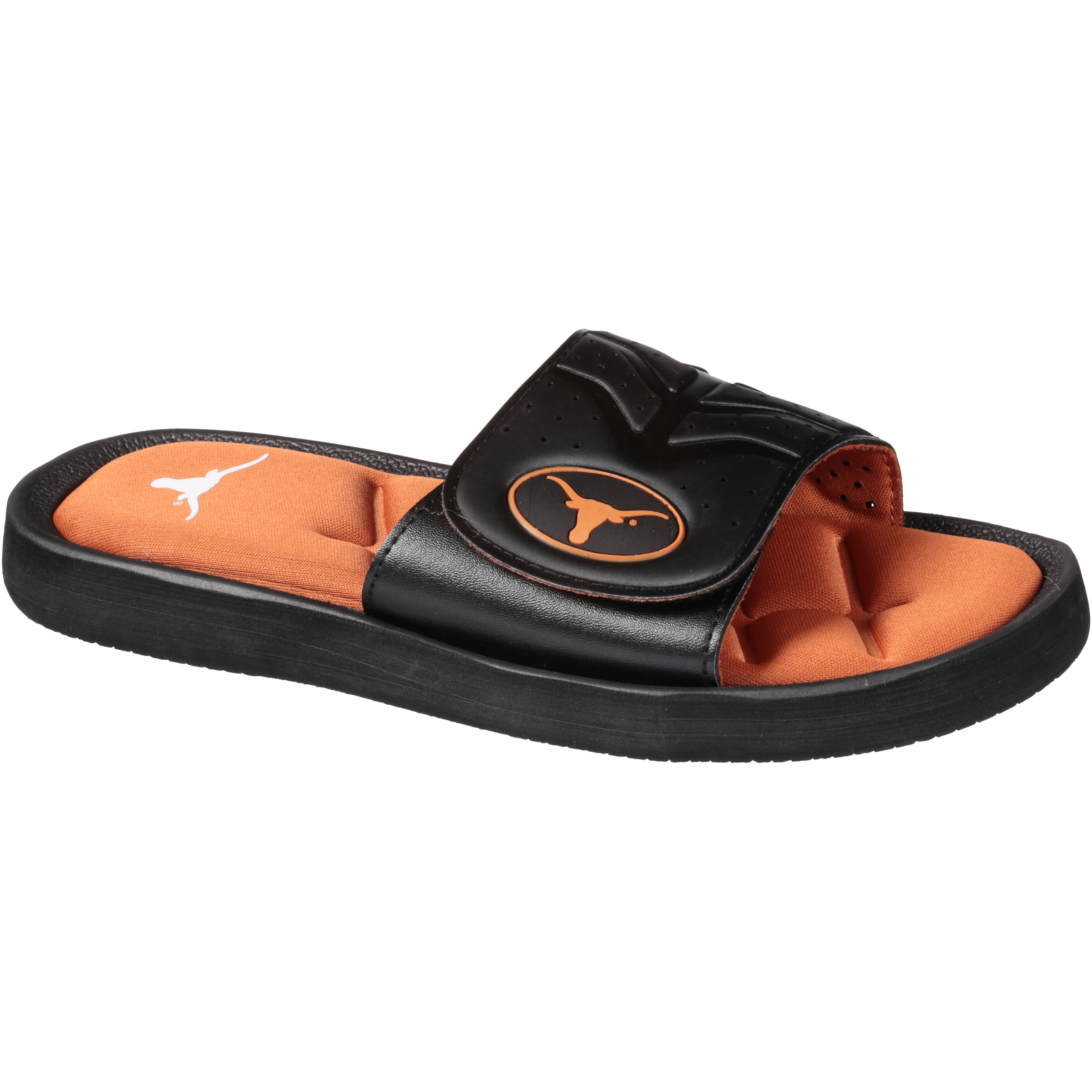 Colliegiate Men's Slide L (11-12) Footwear University of Texas Longhorns 1 pr