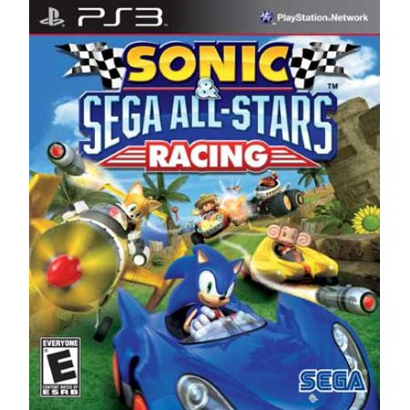 Sega Sonic   Sega All Stars Racing   Racing Game   Playstation 3  Ps3seg69036