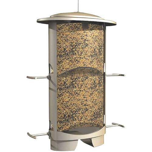 Classic Brands LLC Squirrel X-1 Squirrel Proof Tube Birdfeeder by Classic Brands LLC