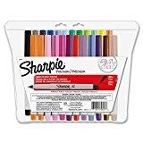 Case of 48 Packs, Sharpie Ultra-Fine-Point Permanent Markers, 24 Assorted Colors