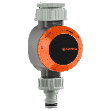 Gardena 31169 Quick Connect Mechanical Garden Water Timer with Flow Control