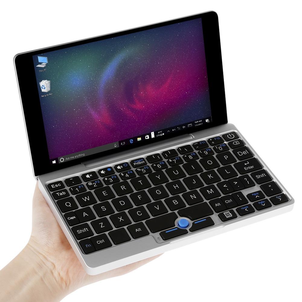 GPD Pocket 7.0 inch touchscreen laptops game 8GB RAM 128GB Aluminum Shell portable