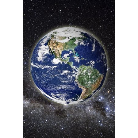 Scientific Method Poster (Beautiful Pic Of Earth From Space Poster Clear Scientific Educational 24X36 )