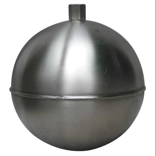 NAUGATUCK GR70S414HE Float Ball, Round, SS, 7 In