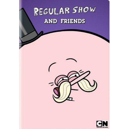 Regular Show and Friends - Tv Show Friends Halloween