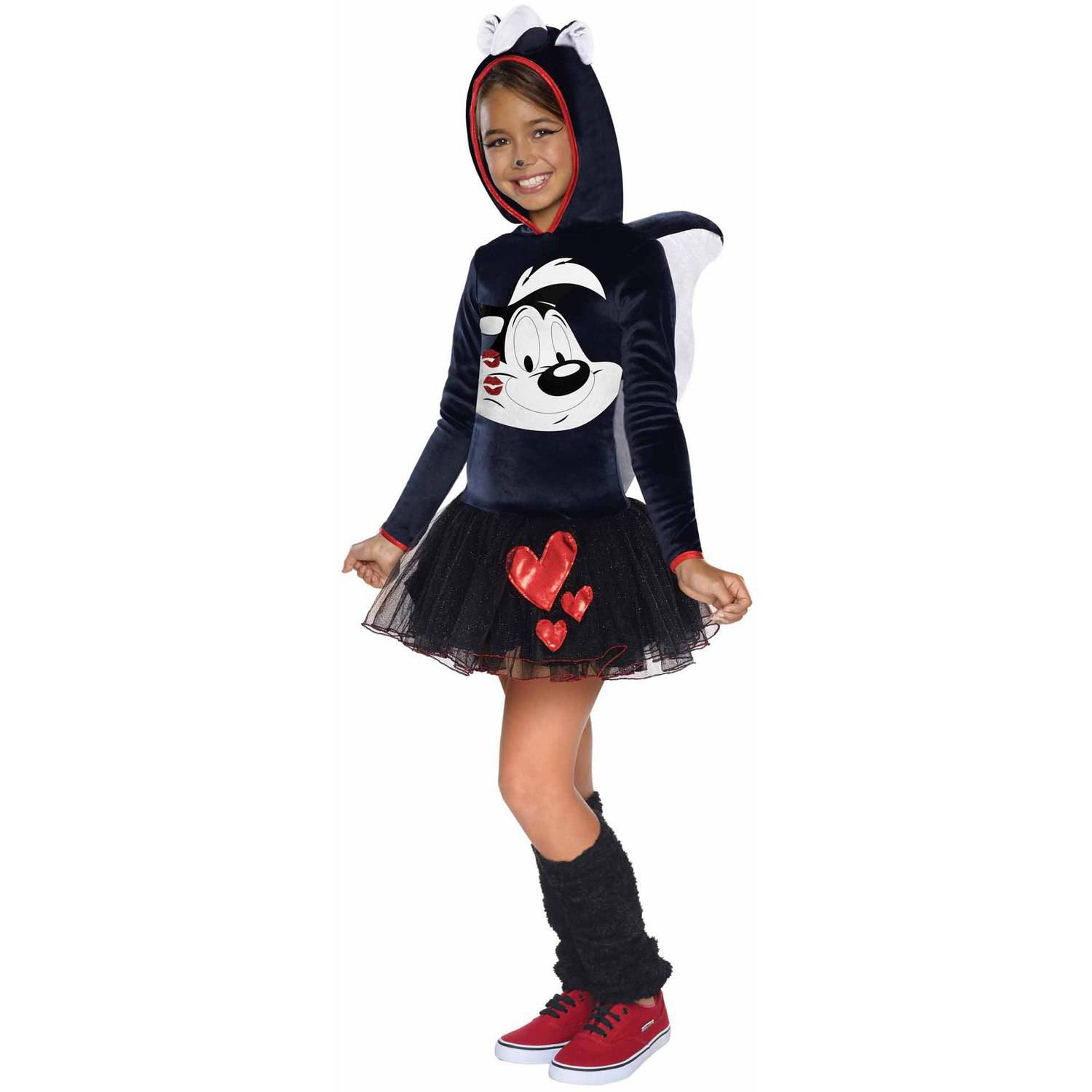 sc 1 st  Walmart & Looney Tunes Pepe Le Pew Hooded Child Halloween Costume - Walmart.com