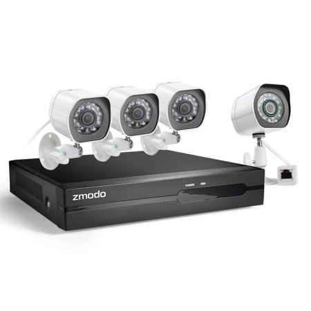 4 Channel 1080P Full HD sPoE NVR Security System