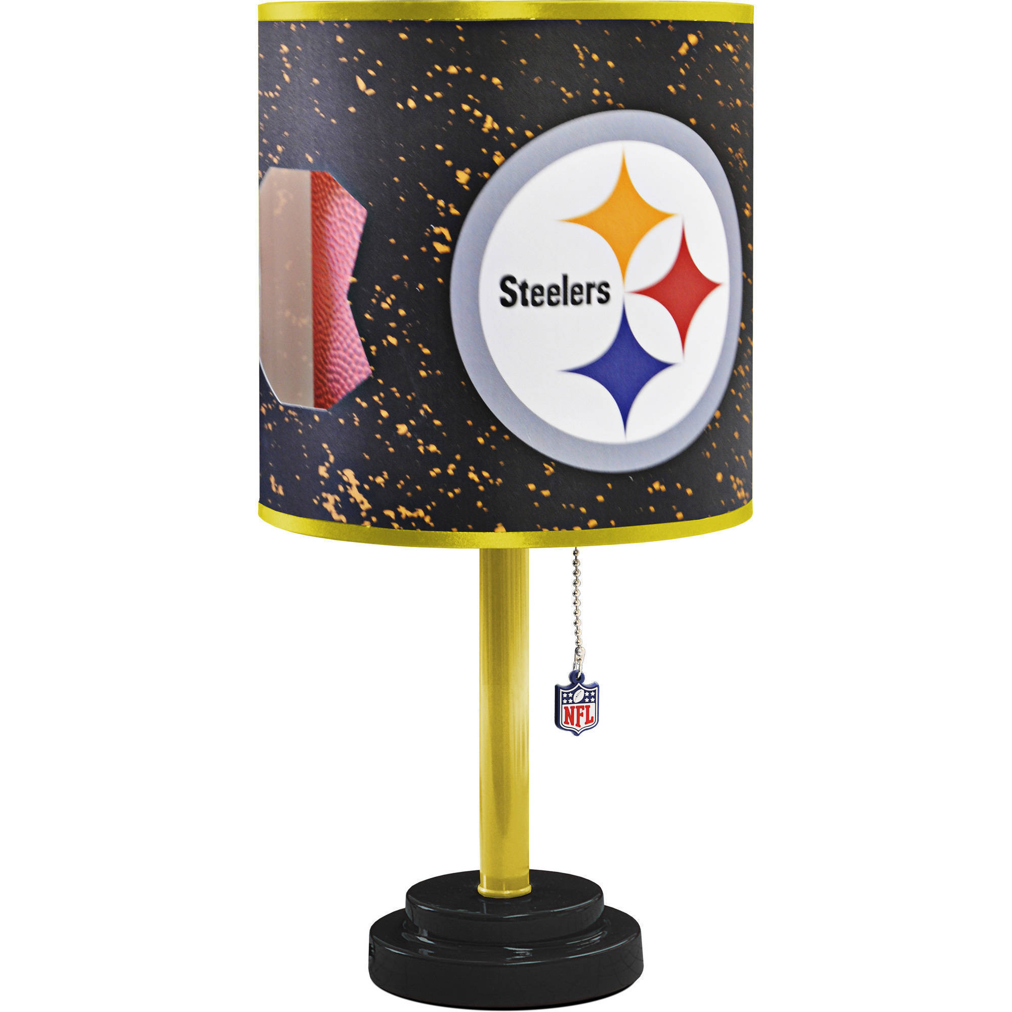 Pittsburgh Steelers Die-Cut Table Lamp