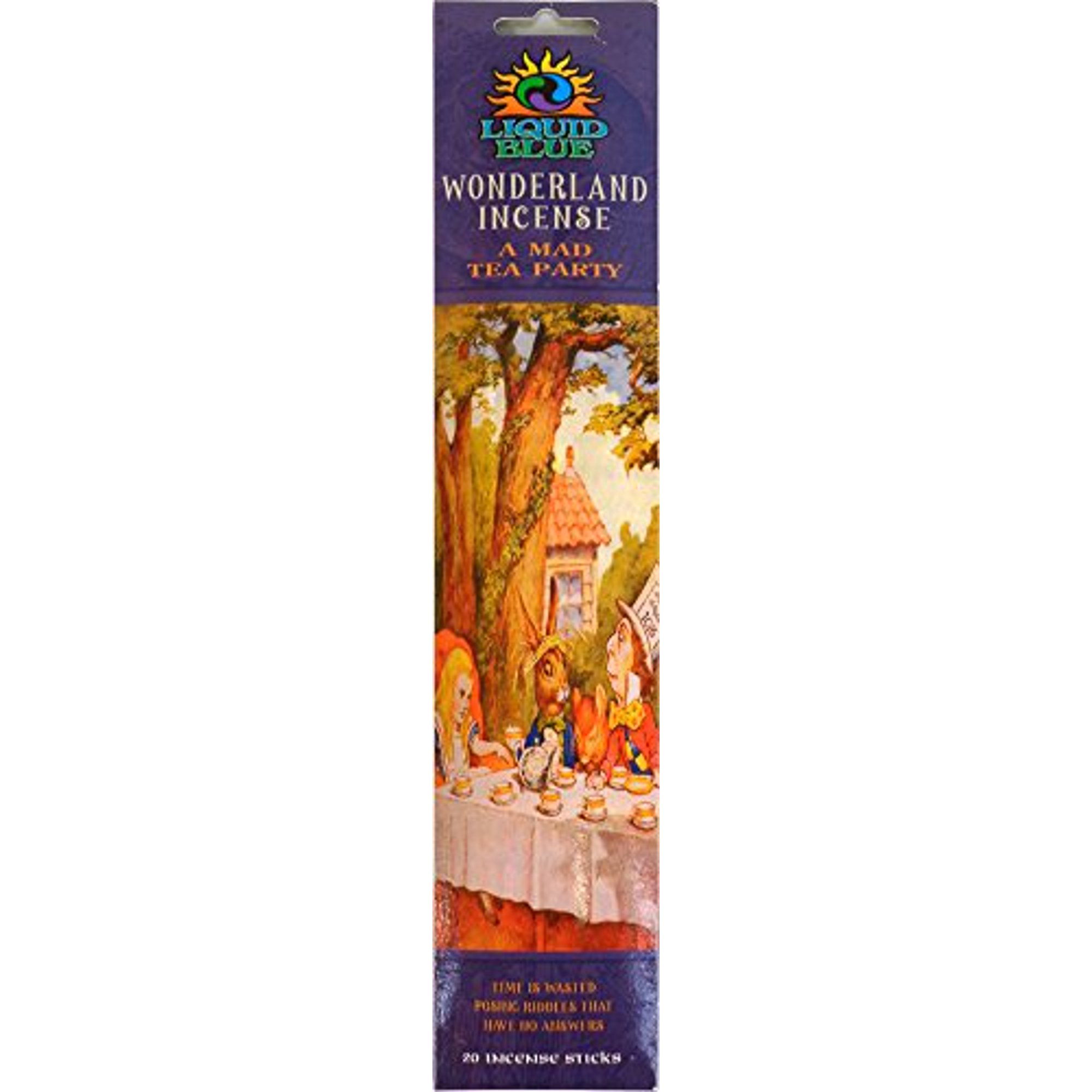 Liquid Blue Alice In Wonderland Mad Tea Party Collectible 20 Stick Incense Pack Walmart Canada
