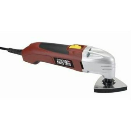 Chicago Electric Power Tools Oscillating Multifunction Power (Best Oscillating Multifunction Tool)