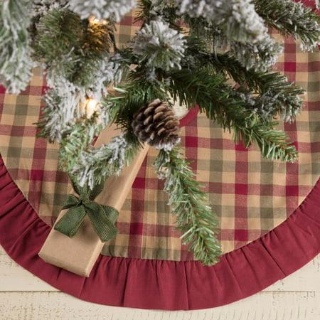 Natural Tan Traditional Christmas Decor Jonathan Plaid Cotton Plaid 21