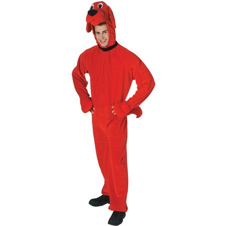 clifford big red dog adult halloween costume size mens one size - Clifford The Big Red Dog Halloween Costume