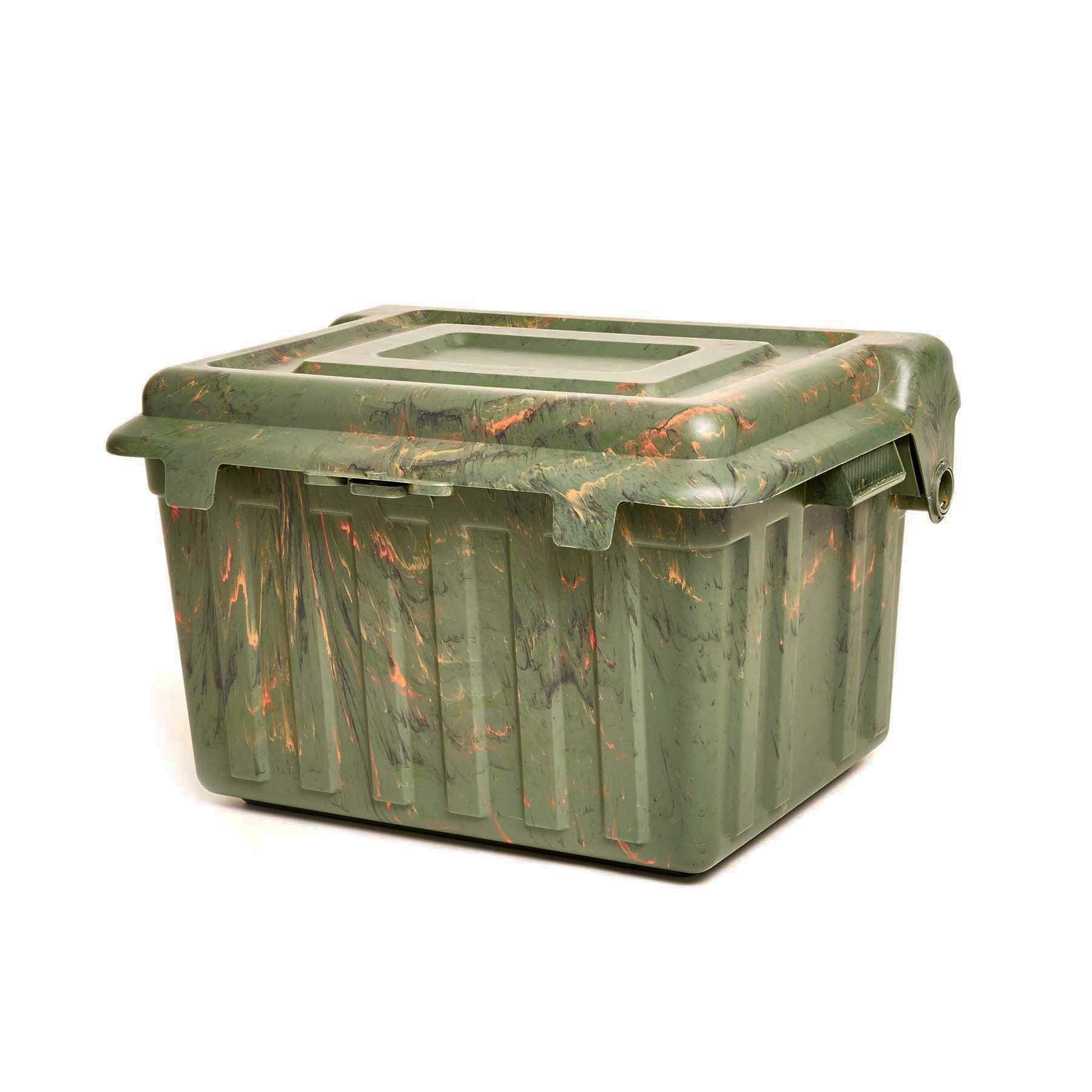 Homz Durabilt® Camo Locker Box with Tray, Set of 2