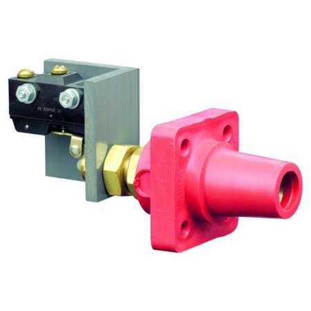 Leviton 16RSW-R Red 16 Series Female Cam-Type Panel Receptacle with Micro - Leviton Panel