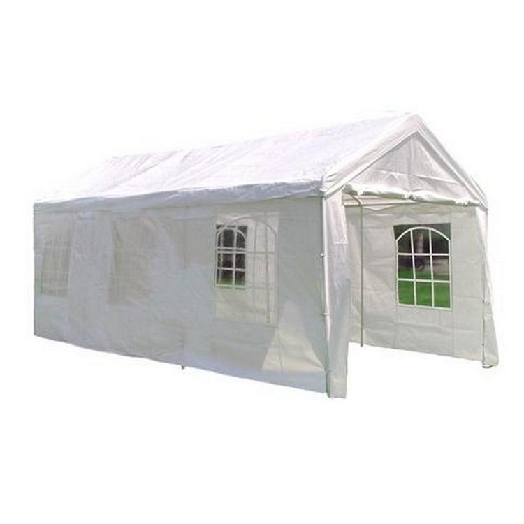 10 X 20 Heavy Duty White Party Tent Gazebo With Sidewalls