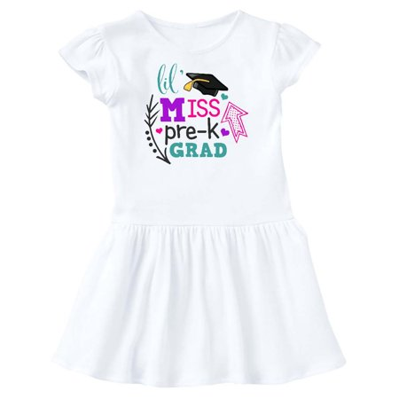 Lil Miss Pre-K Grad with Arrows Toddler Dress](Miss Frizzle Dress)