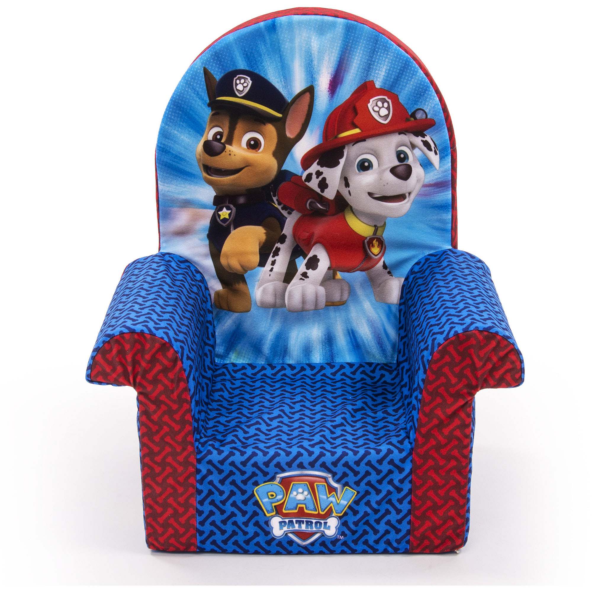Marshmallow Furniture High Back Chair, Nickelodeon Paw Patrol