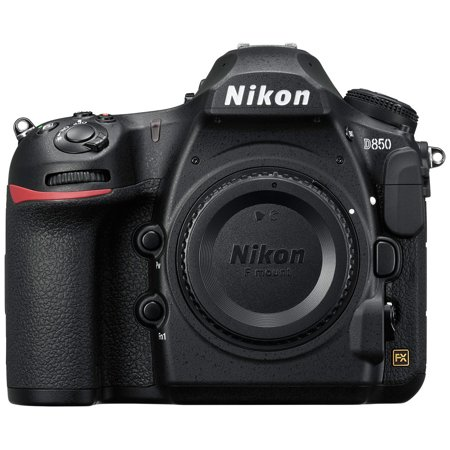 Nikon D850 45.7MP Full-Frame FX-Format Digital SLR Camera - Black (Body
