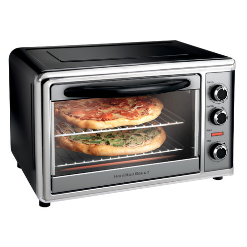 Hamilton Beach Countertop Oven with Convection and Rotisserie | Model# 31104