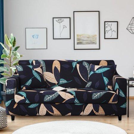 Walfront Sofa Covers Dustproof Slipcover Elastic Loveseat