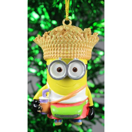 Kurt Adler Despicable Me Minion Tourist Dave  Holiday - Tourist Party