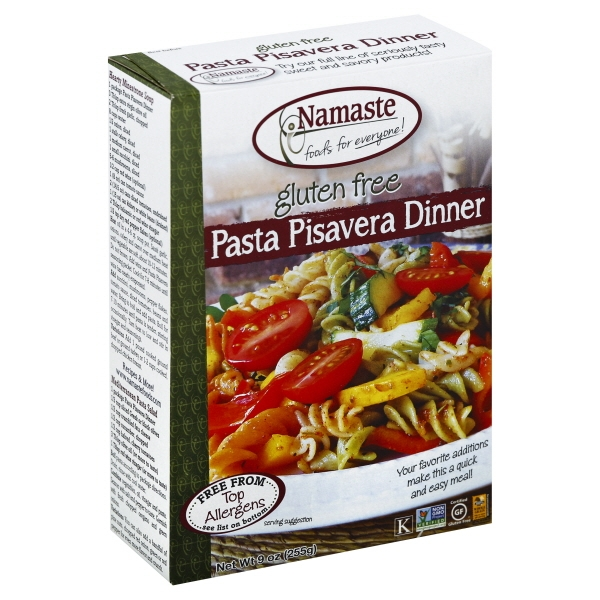 Namaste Foods, Gluten Free Pasta Pisaveraz Dinner 9-Ounce Boxes (Pack of 6)