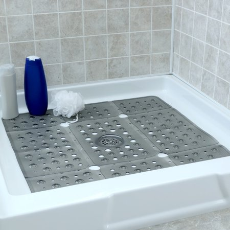"""SlipX Solutions 27"""" x 27"""" Extra Large Square Shower Mat ..."""