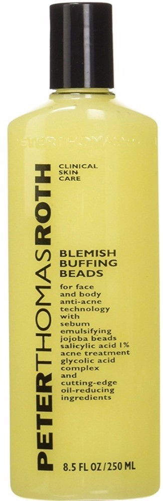4 Pack - Peter Thomas Roth Blemish Buffing Beads 8.5 oz Jergens Daily Moisture Lotion for Dry skin Hydrates and Smoothes - 10 Ounce, (3 Pack) + Old Spice Deadlock Spiking Glue, Travel Size, .84 Oz