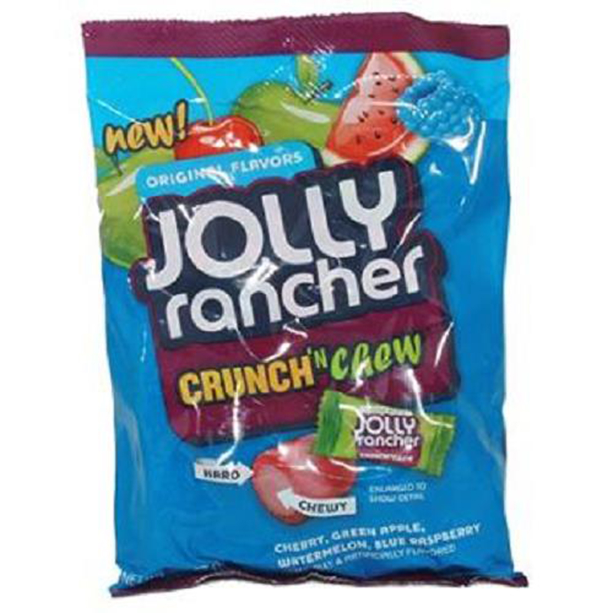 Jolly Rancher Crunch 'N Chew, 6.5 Ounce (Pack of 12)