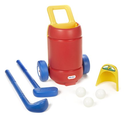 Little Tikes TotSports Easy Hit Golf Set + 3 balls + 2 clubs (Baby Golf Set)