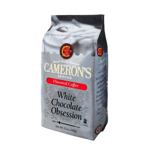 Cameron?s White Chocolate Obsession Ground Coffee, 12 oz